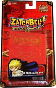 Zatch Bell! The Card Battle - Spell Book - Zatch Bell (1st edition)