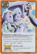 Robnos complete card