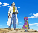 Grisor and Dr. Hakase