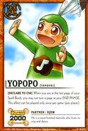 Yopopo card