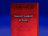 Sunset Soaked in Tears