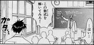 Hidetoshi Nakata and Kiyomaro Takamine in Chapter 1