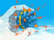 Zeon destroying faudo pingent
