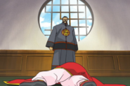 Li-en defeated by her father Li-Akuron