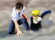 Zatch and Kiyo Dust