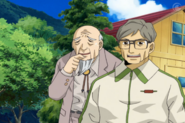 Hidetoshi Nakata and the Principal in Episode 17