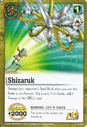 Shizaruk card
