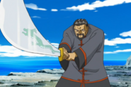 Li Pakron withdraws his sword