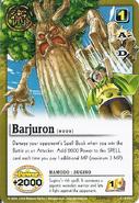 Barujyuron card sugino
