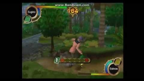 Zatch Bell! Mamodo Fury Arcade Mode - Sugino