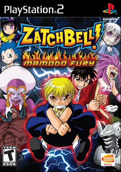 Zatch Bell Mamodo Fury