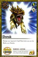 Doruku gorufe card