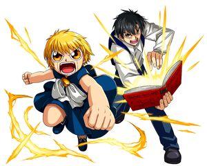 Zatch Bell & Kiyomaro Takamine