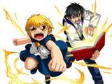 Zatch Bell and Kiyo Takamine