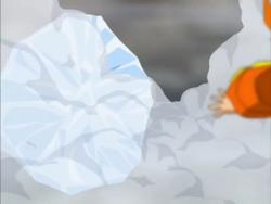 Karudio ice shield