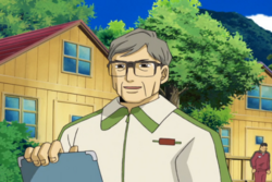 Hidetoshi Nakata in Episode 17