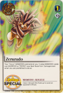 Zerurudo card