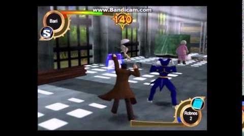 Zatch Bell! Mamodo Fury Arcade Mode - Bari