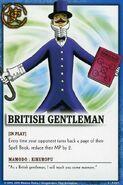 British gentleman card