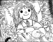 Muumu sister doll