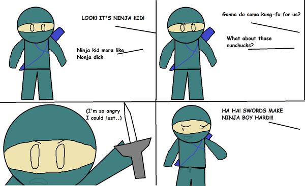 The unfortunate tale of mr ninja