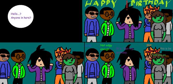 Zay Escobar Legion 2 Unhappy Birthday