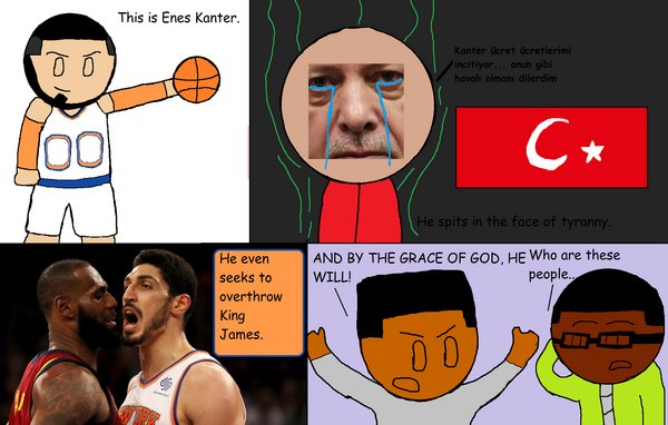 With apologies to enes kanter