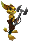 Ratchet from R&C (2002) render