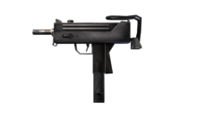 W m submachinegun mac-10 측면