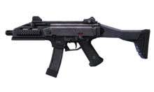 W m submachinegun cz scorpion evo 3 측면