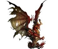 Feral Dragon art