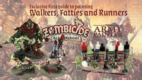 How to paint Zombies from Zombicide Black Plague