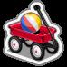 Suburbia Red Wagon-icon