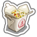 Asian Cuisine Take Out Box-icon