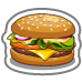 Fast Food Cheeseburger-icon