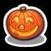 Pumpkin Jack-o-Lantern-icon