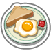 Comfort Food Eggs and Toast-icon