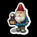 Peaceful Living Garden Gnome-icon