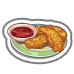 Fast Food Chicken Strips-icon
