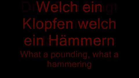 Stein Um Stein - Rammstein Lyrics and English Translation