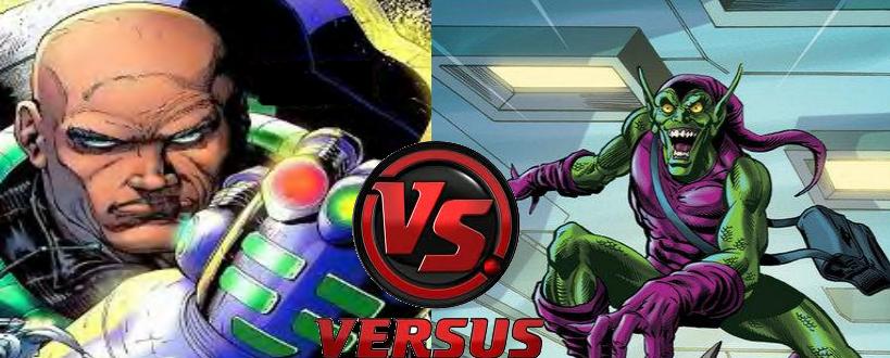 Lex Luthor vs Green Goblin