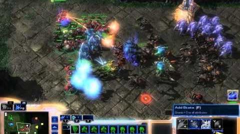 SC2 FFS Event166 Game 1 (Zealot Frenzy)