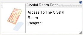 Crystal Room Pass