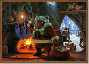 Christmas,christmascard,ewok,lucasfilm,santaclaus,starwars-e451b8a0e5a04ea4e9720daf65aae5a8 h