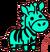 Baby Alien Zebra
