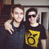Zedd and Skrillex in 2013
