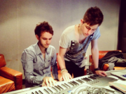 Zedd in the studio with Porter Robinson