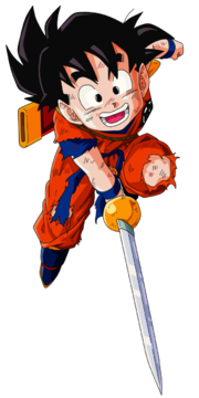 Kid gohan vector render extraction png by tattydesigns-d5acvzf