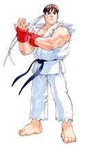 Street Fighter Zero 2 Art Ryu 1