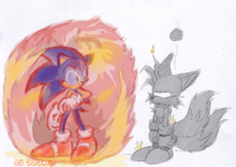 Sonic 3 Fire shield by adamis